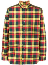 Junya Watanabe Comme Des Garcons Man Checked Shirt Cotton L
