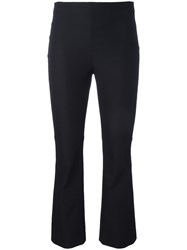 Theory Cropped Pants Black