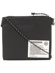 Neighborhood Sacoche Shoulder Bag Black