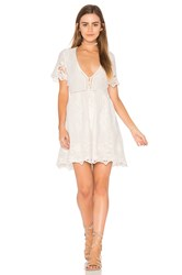 Spell And The Gypsy Collective Magnolia Mini Dress White