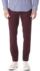 Club Monaco Connor Chinos Dark Burgundy