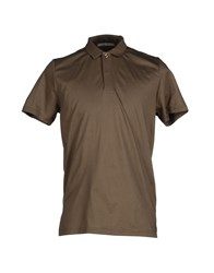 Alpha Studio Topwear Polo Shirts Men Military Green