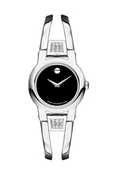 Movado 'Amorosa' Bracelet Watch 24Mm Black