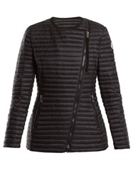 Moncler Axinite Quilted Down Jacket Black