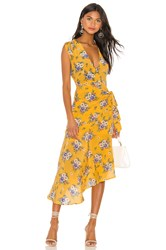 Yumi Kim Midtown Dress Yellow