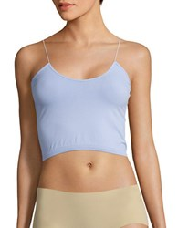 Free People Stretch Cropped Cami Blue