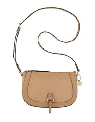 Nine West Evelina Contrast Crossbody Bag Camel