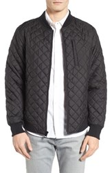 7 Diamonds Men's Essen Quilted Bomber Jacket