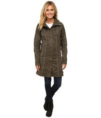 Kuhl Lena Trench Sage Women's Coat Green
