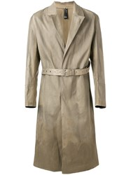 Alyx Belted Trench Coat Brown