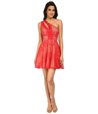 Style Stalker Elliot Circle Dress Rose Red Women's Dress Pink