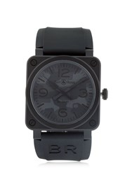 Bell And Ross Camouflage Ceramic Automatic Watch Grey