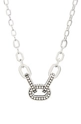John Hardy Women's Dot Station Necklace Silver