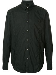 Forme D'expression Layered Front Shirt Black