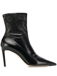 Jimmy Choo Brin 85Mm Boots Black