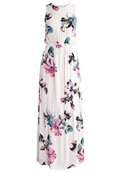 Soaked In Luxury Iman Maxi Dress Water Colour Purple