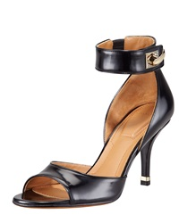 High Heel Ankle Wrap Shark Tooth Sandal Givenchy