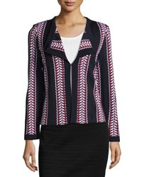 Ming Wang Striped Jacket Nst