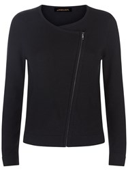 Jaeger Side Zip Cardigan Black