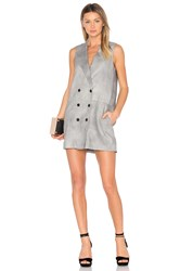 Marissa Webb Alan Dress Gray