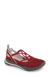 Jambu Women's Reign Strappy Sneaker Red