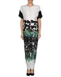 Cedric Charlier Cedric Charlier Pant Overalls White