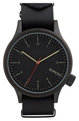 Komono Men's 'Magnus' Watch 46Mm Black