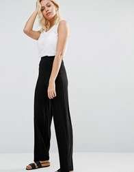 Love Wide Leg Trouser Black