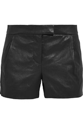 J.Crew Collection Leather Shorts