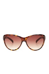 7 For All Mankind Women's Cat Eye Sunglasses Metallic
