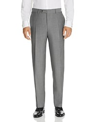Canali Classic Fit Travel Trousers Light Gray