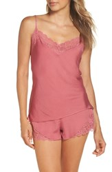 Josie Colette Camisole And Short Pajamas Canyon Coral