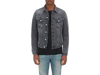 Nudie Jeans Men's Billy Cotton Denim Jacket Grey