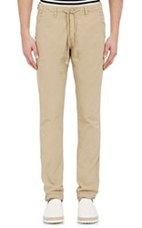 Barneys New York Men's Drawstring Royce Pants Nude