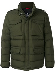 Fay Padded Jacket Feather Down Polyamide L Green