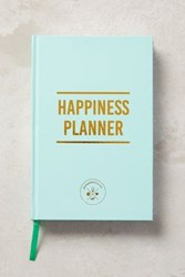 Anthropologie The Happiness Planner Turquoise