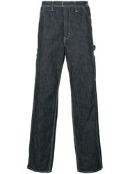 Hysteric Glamour Relaxed Fit Wide Leg Jeans Blue