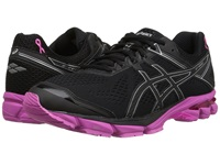 Asics Gt 1000 4 Pr Black Silver Pink Ribbon Men's Running Shoes