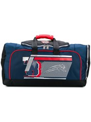 Plein Sport Sports Holdall Blue