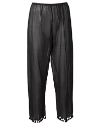 Dosa Tassel Trousers Black