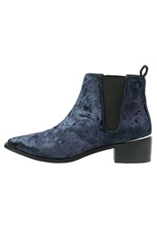 Office Agave Ankle Boots Navy Dark Blue