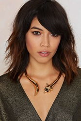 Nasty Gal Such A Fox Collar Necklace
