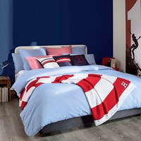 Tommy Hilfiger Chambray Duvet Cover Blue