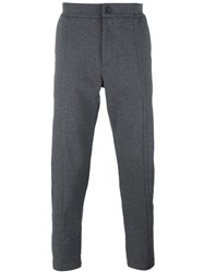 Paolo Pecora Slim Fit Trousers Grey