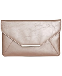 Style And Co. Lily Envelope Clutch Blush