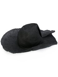 Reinhard Plank Big Kenza Hat Women Straw Xl Black
