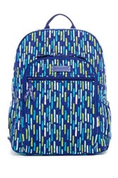 Vera Bradley Campus Backpack Blue
