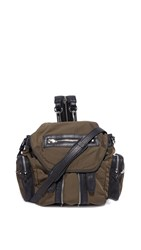 Alexander Wang Mini Marti Backpack Military