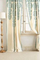Anthropologie Marrakech Curtain Turquoise