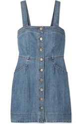 Michael Michael Kors Denim Mini Dress Blue